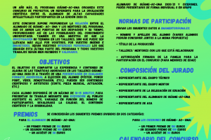 Cartel Concurso IX edición GuíaMe-AC-UMA